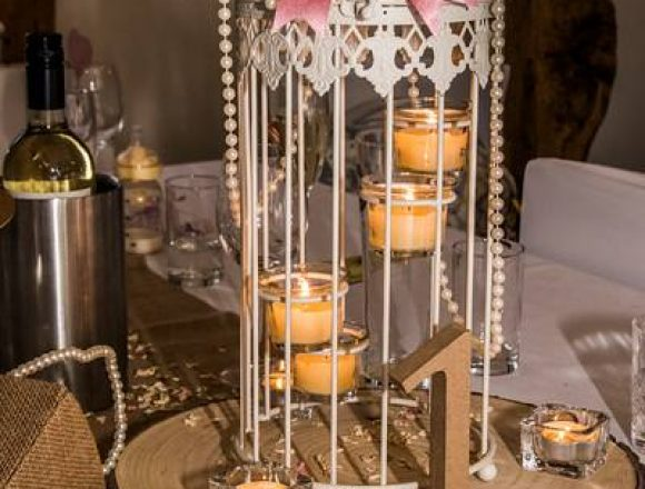 center-piece-candles-with-wooden-number